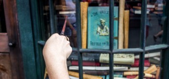 Interactive Spell Beedle the Bard Visiting Harry Potter World Orlando